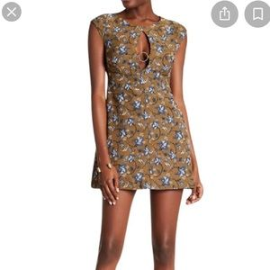 Free People Say Yes mini dress